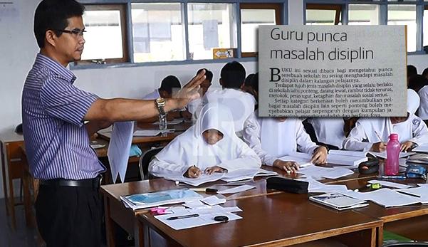 Kajian: Guru Punca Masalah Disiplin Pelajar