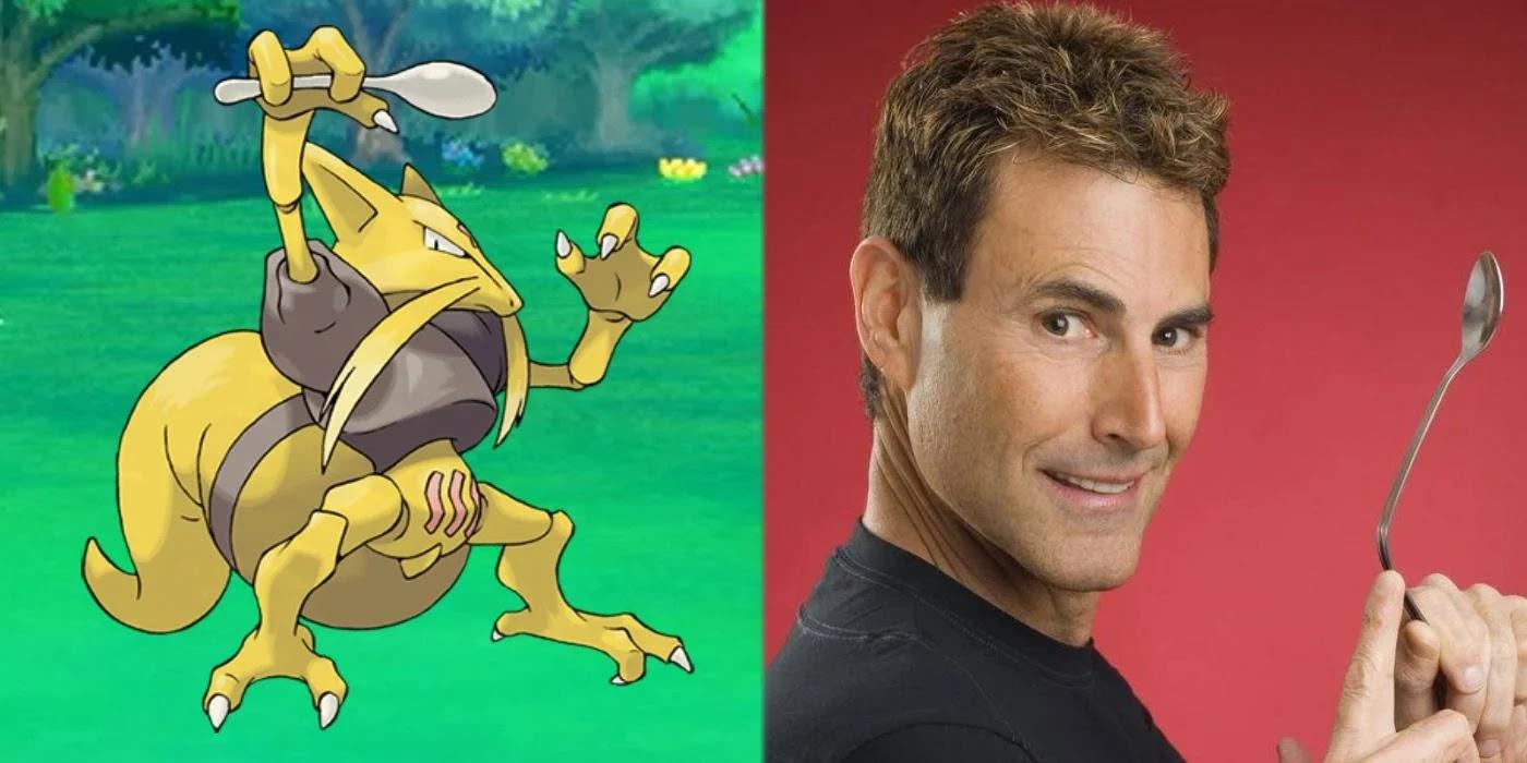 20 anos após proibição, Uri Geller se desculpa e autoriza a impressão de cartas de Kadabra em Pokémon TCG