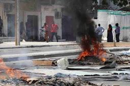 5 Orang Tewas Saat Demonstrasi  Pembunuhan Supir Tuktuk di Mogadishu, Somalia