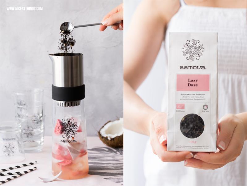 Tea Jay Erfahrungen und Rezepte mit Samova Tee