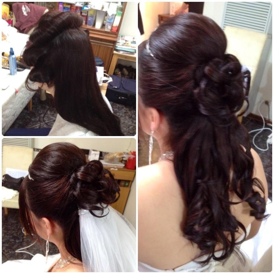 Why Do Brides Wear Garters On Their Wedding Day: The Bridal Hairstylist: Claudia's Wedding Hair