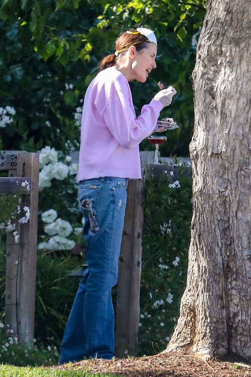 Geena Davis Throws a Birthday Party for her Twin Sons in Pacific Palisades 6 May-2020