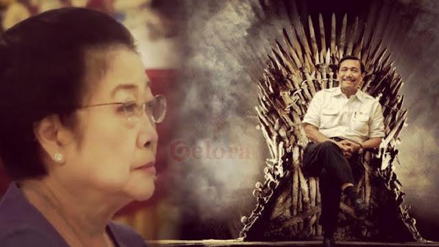 Luhut Memang Hebat, Megawati dan PDIP Tak Berkutik
