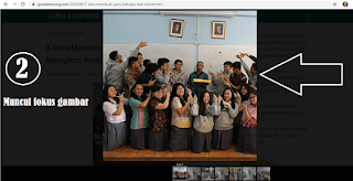 Peserta Didik dan Rekan Guru yang Terkasih, Begini Cara Melihat Link URL Gambar Blog