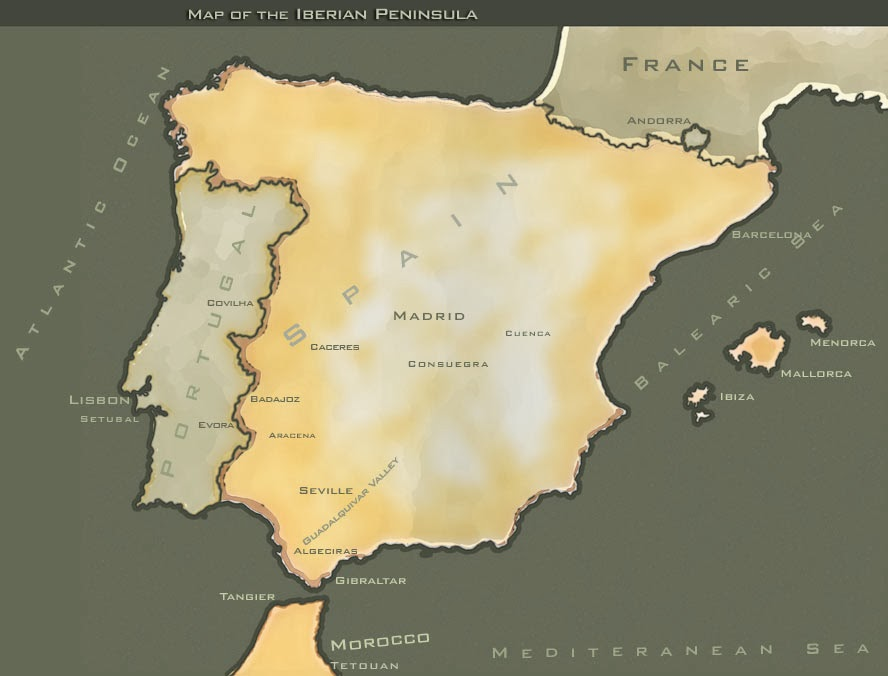 Map Of Spain 8th Century.Running Of The Bulls A Brief History Running Of The Bulls Tours