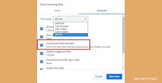 Cara Menghapus Cookie Pada Google Chrome #2