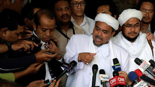 Sebut Ketuhanan Pancasila Soekarno Dengan Kata Tak Pantas, Kok Bisa Rizieq Shihab Lolos Dari Jerat Hukum....