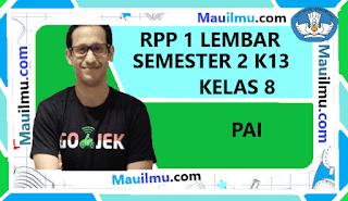 rpp-1-lembar-pai-kelas-8-smp-semester-2