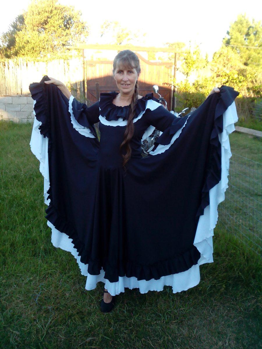 3a4a82e1d2 como hacer un vestido de folklore argentino - Buscar con Google ...