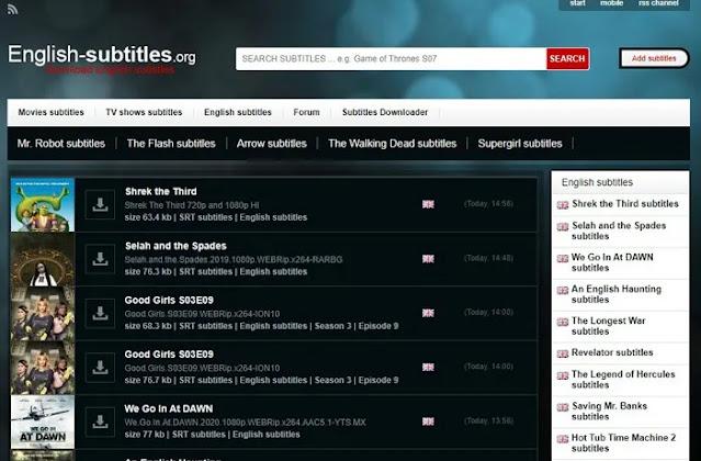 8 مواقع لتنزيل ترجمات للأفلام والبرامج التلفزيونية