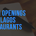 JOB OPENINGS FOR DIFFERENT ROLES IN LAGOS RESTAURANT