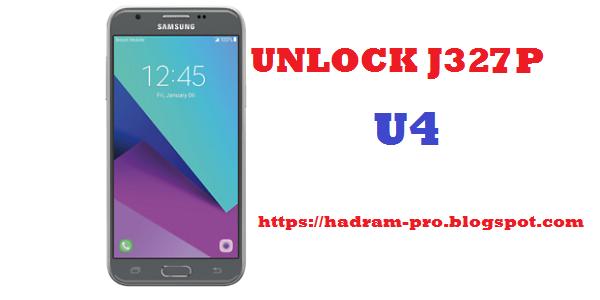 UNLOCK SIM SAMSUNG GALAXY SM-J327P U4