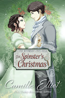 Book cover of The Spinster's Christmas by Camille Elliot