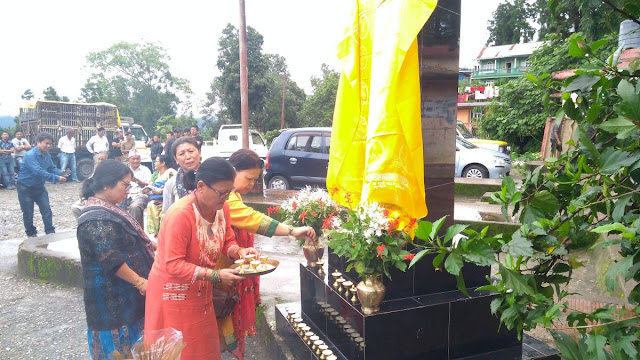 Gorkhaland Martyr Days Saheed diwas 2019 in Mungpoo