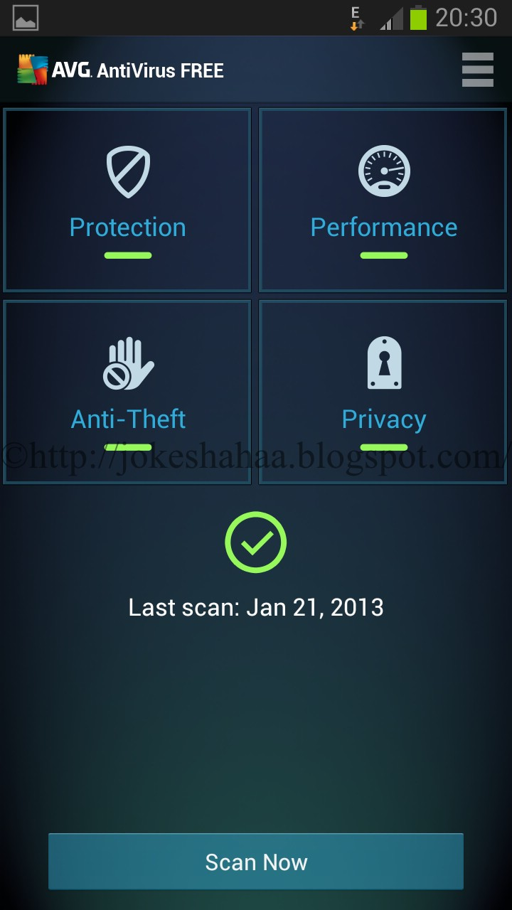 AVG AntiVirus FREE for Android™ ~ Jsoftware