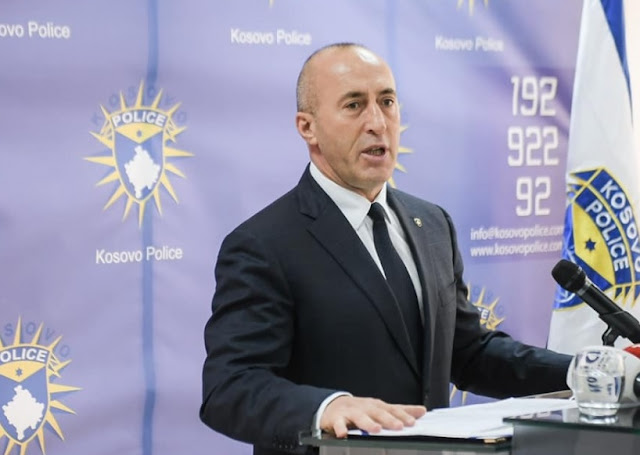Ramush Haradinaj resigns as chairman of the Alliance for the Future of Kosovo