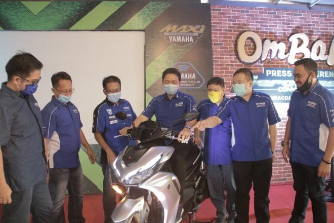 Kehadiran Yamaha All New Aerox 155 Connected di Indonesia Timur
