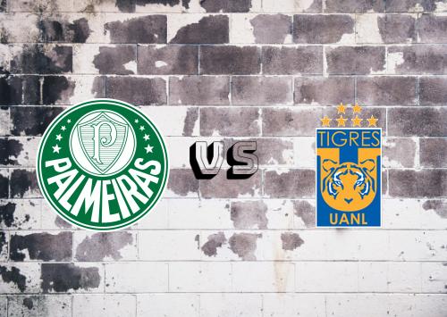Palmeiras vs Tigres UANL  Resumen