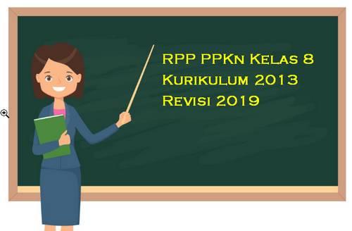 RPP PPKn Kelas 8 Kurikulum 2013 Revisi 2019