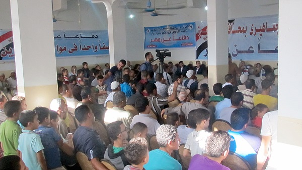 شباب مصر: البحيرة تنتفض ضد الإرهاب وتعلن رفضها دعوات النزول للشارع