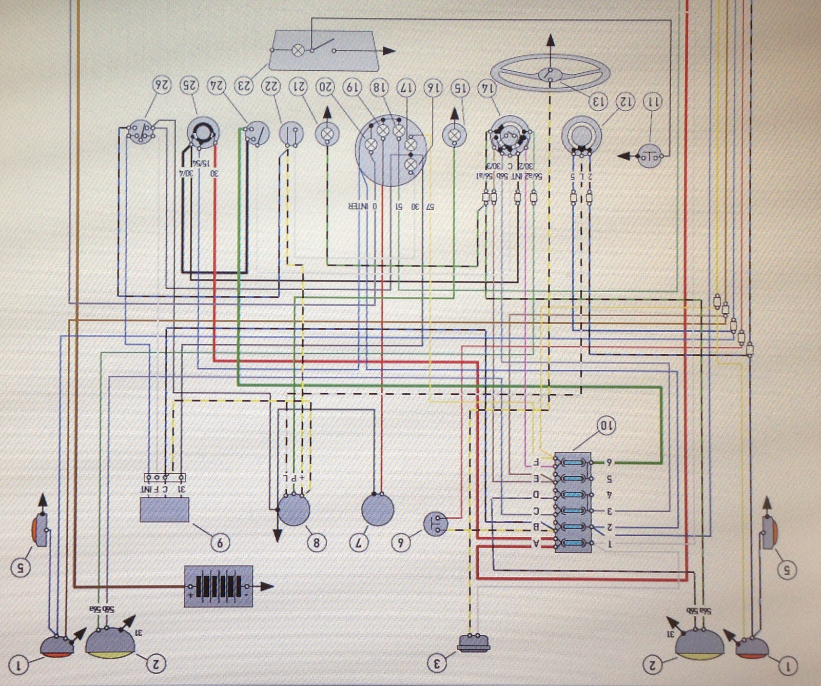 Fiat 500 Wire Harness Wiring Diagrams Instruction Car Diagram ...