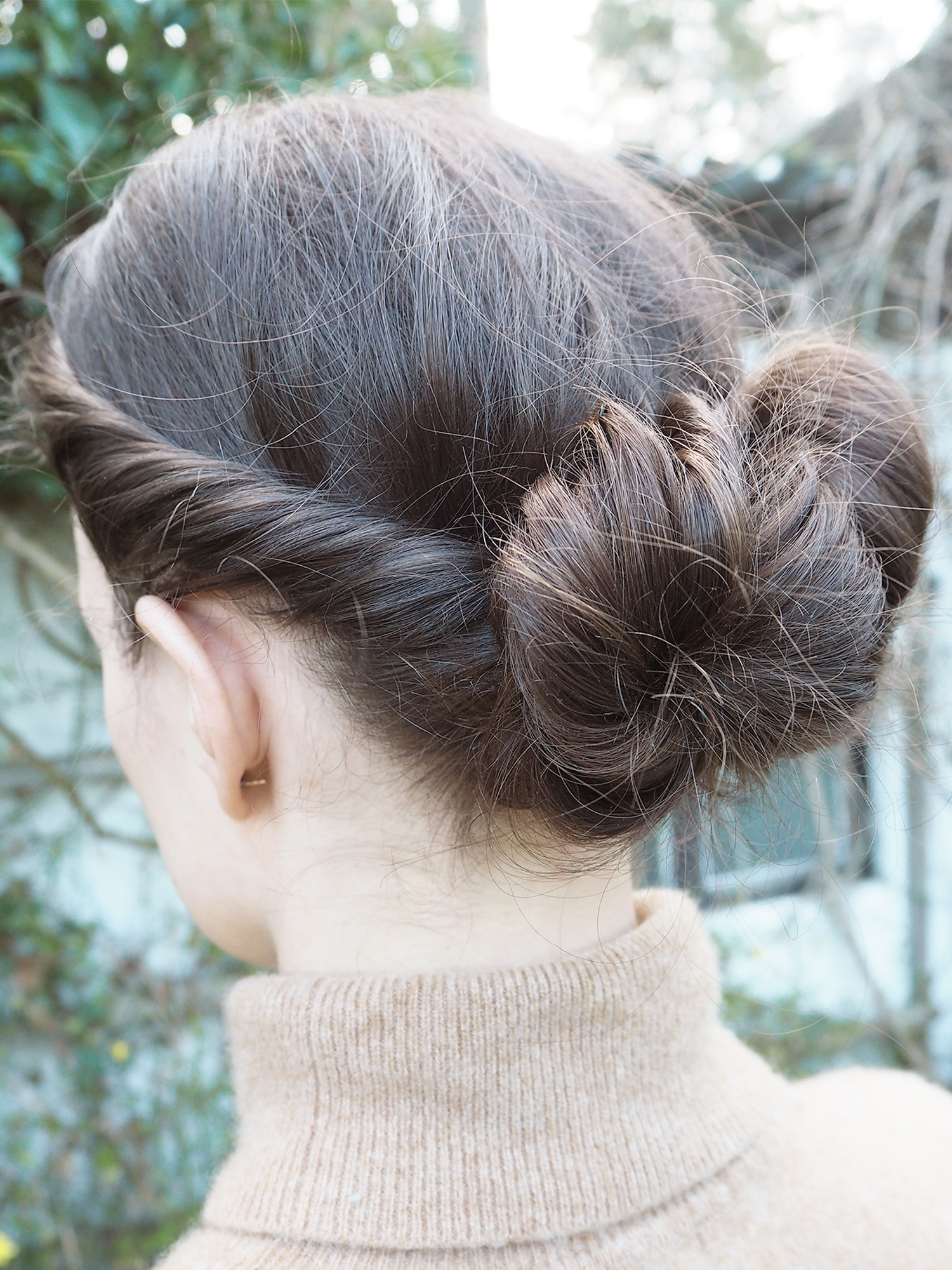 Space Buns Low Twisted