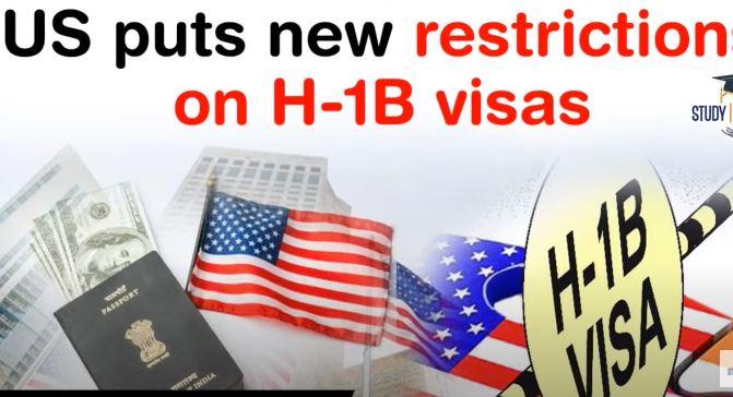 H-1B visa selection