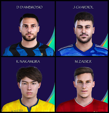 PES 2021 Facepack V2 by Raden