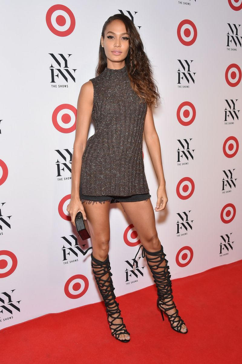 HD Photos of Joan Smalls At Target Img Nyfw Kickoff Party In New York