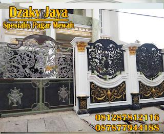 Pemasangan Pagar Besi Tempa Klasik di Jakarta Utara