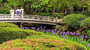Kenroku-en, el jardín paisajístico más bello de Japón