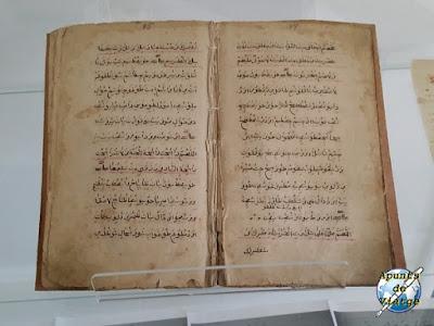 Libro en árabe del museo de Kruszyniany