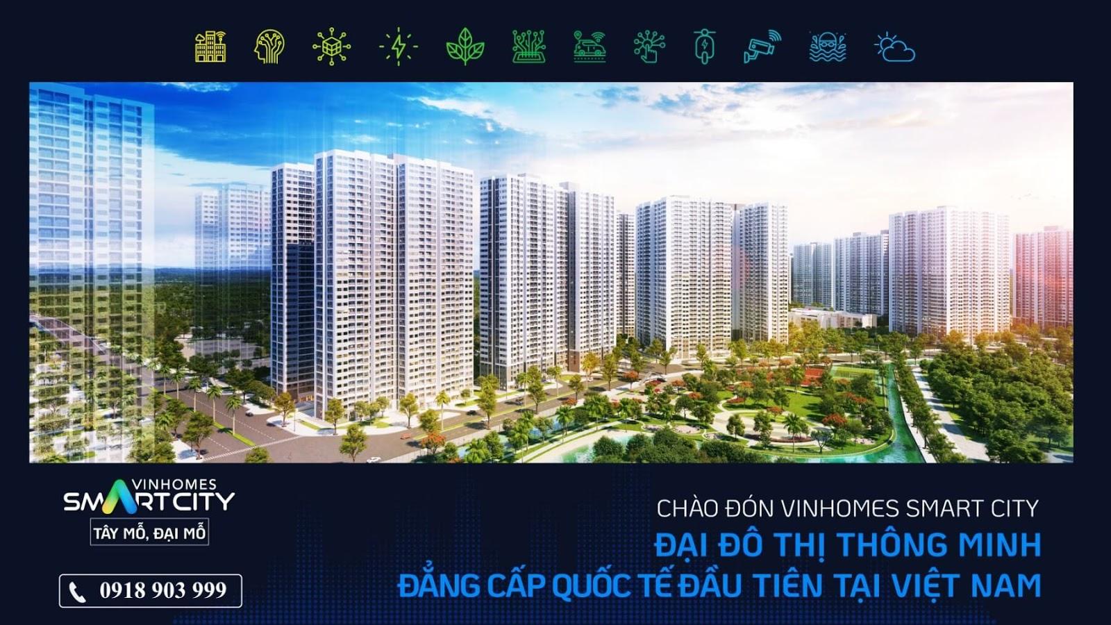 Toàn cảnh đại đô thị thông minh Vinhomes Smart City