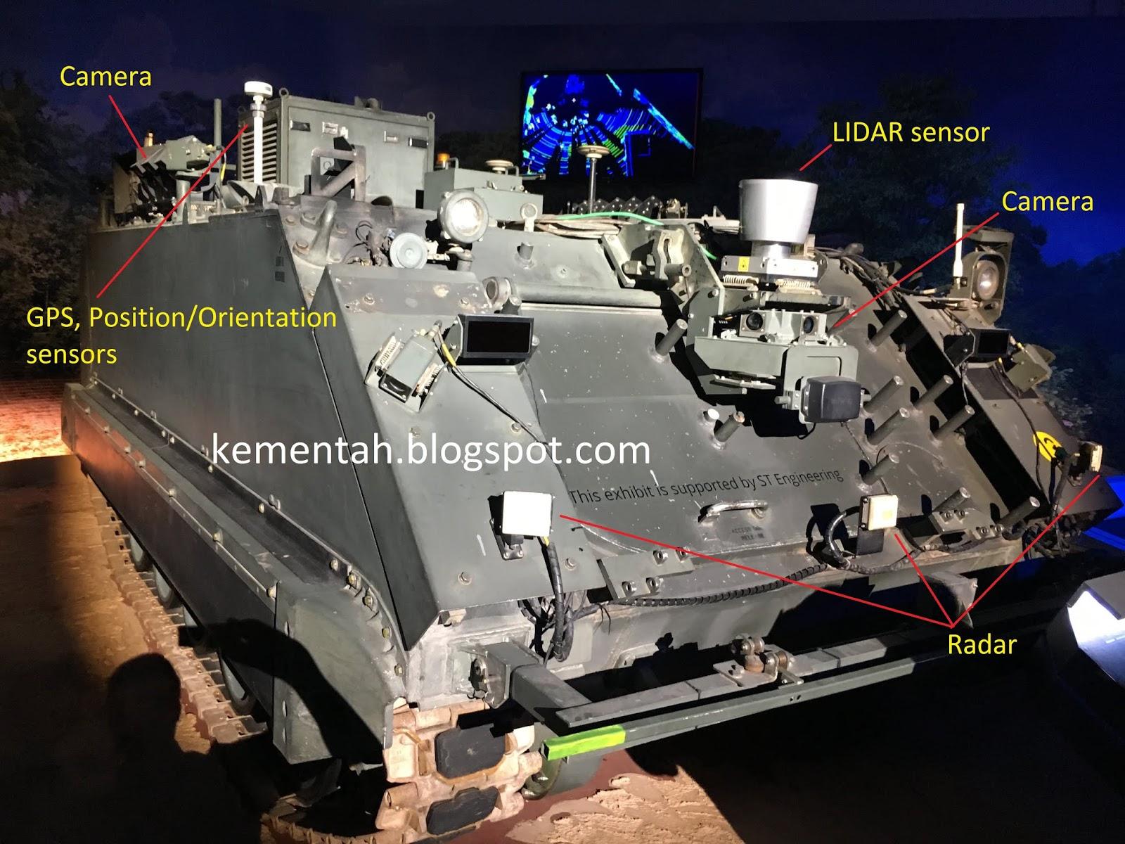 Senang Diri: Singapore unveils unmanned Hunter Armoured