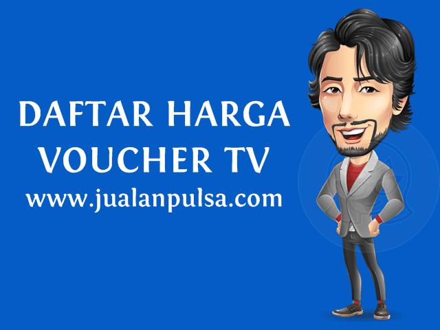 Daftar Harga Voucher TV Prabayar Murah JualanPulsa.com