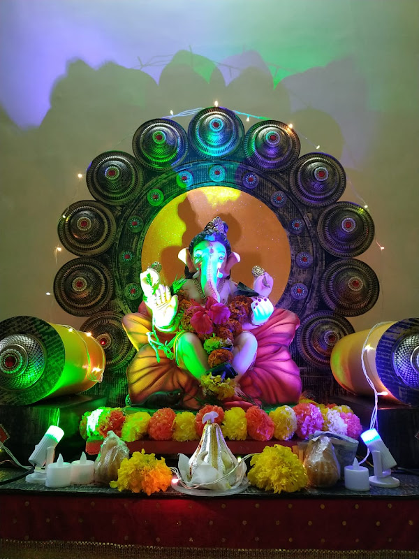 Ganesh Chaturthi celebrations during COVID in India