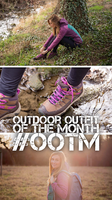 Outdoor Outfit of the Month #OOTM | April 2017 | KEEN Oakridge Polar | CMP Strickfleece Hybrid