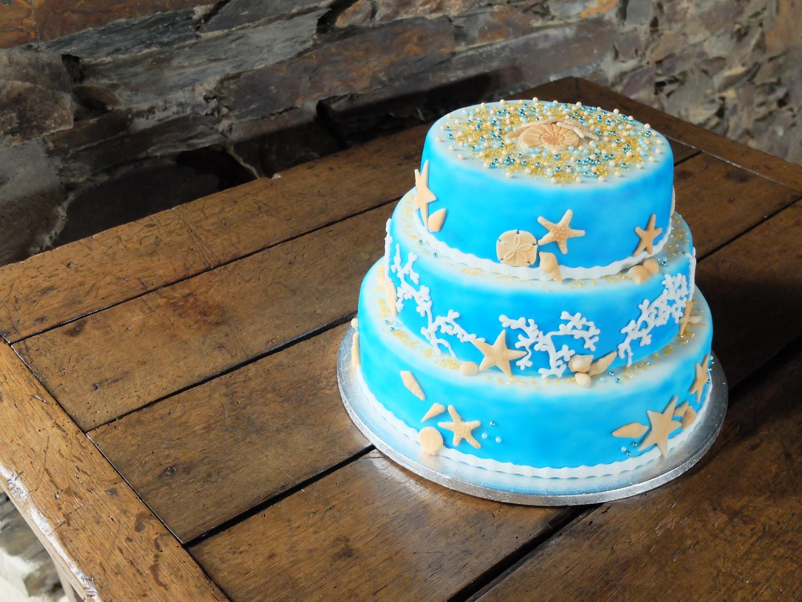 Jils Fluffy Pastries Geburtstagstorte  Sommer Strand