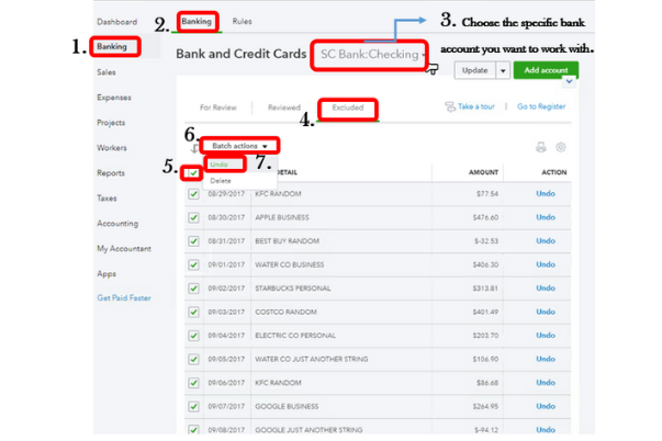 How to Delete Multiple Transactions in QuickBooks?