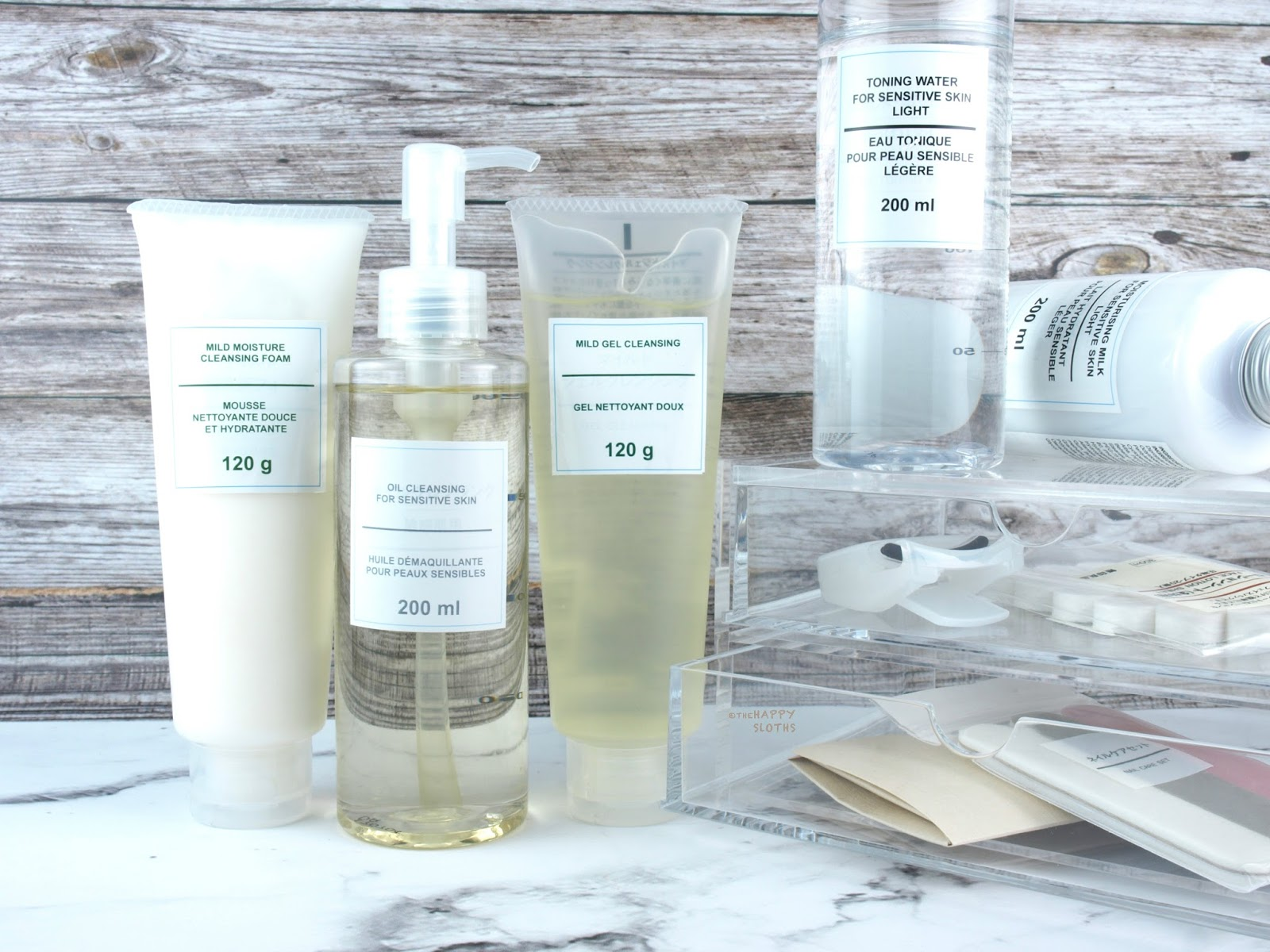 MUJI Skincare | Mild Moisture Cleansing Foam, Sensitive Skin Cleansing Oil, Mild Cleansing Gel: Review