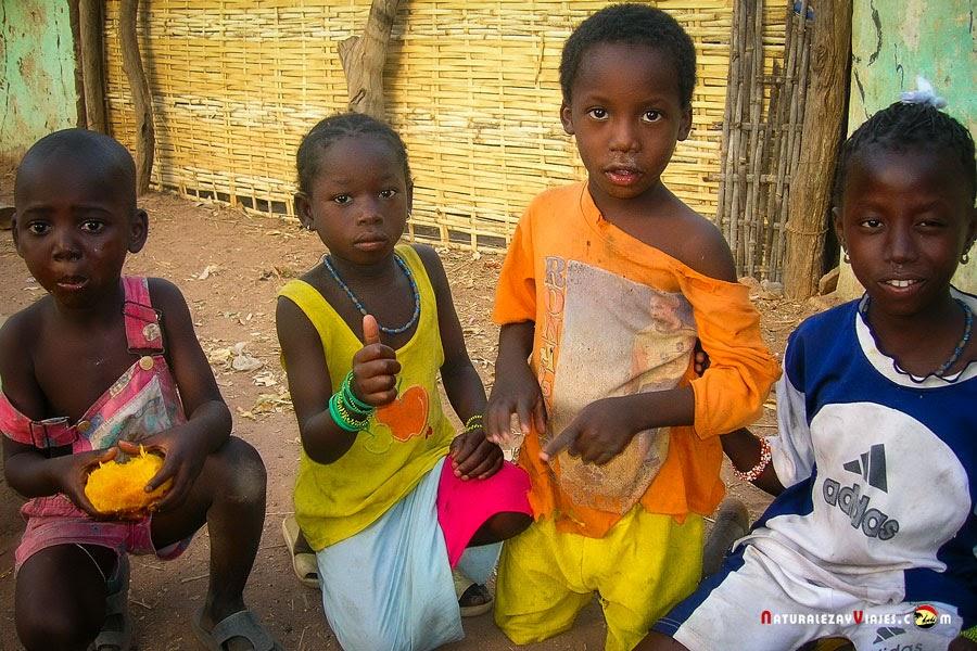 Niños en Senegal