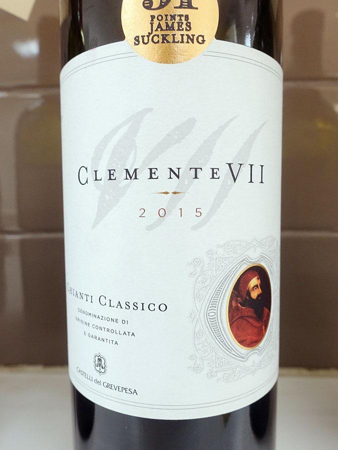 Castelli del Grevepesa Clemente VII Chianti Classico 2015 (88 pts)