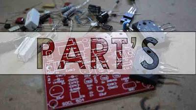 Components power amplifier circuit SOCL 504