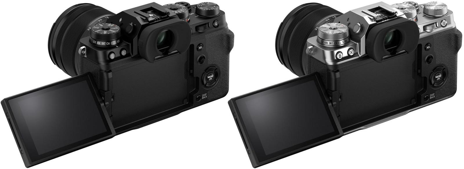 Fujifilm X-T4 получил поворотный экран
