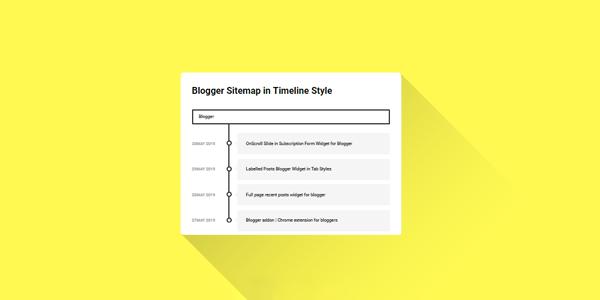 blogger sitemap ekleme