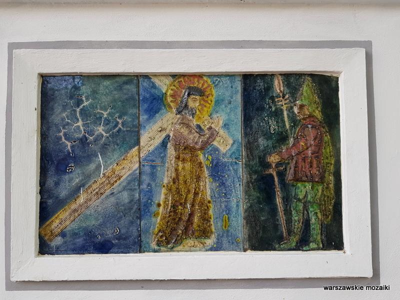Warszaw Warszawa warszawskie kościoły architektura architecture obiekt sakralny rzymskokatolicki Praga Północ ceramika Henisz