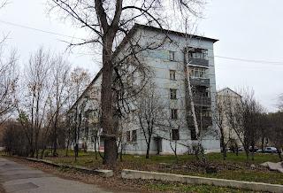 Святогорск. Несколько пятиэтажек по ул. Ивана Мазепы