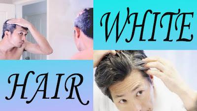 white hair treatment in Hindi homemade remedies
