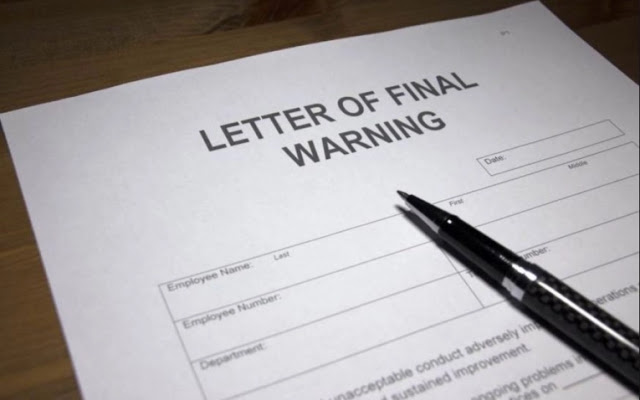Aturan pembuatan surat peringatan pelanggaran karyawan