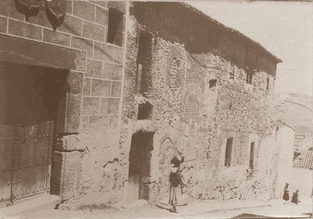 Cáceres Cuesta del Marqués foto antigua